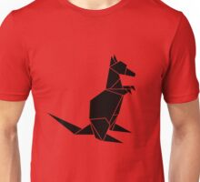 Origami Kangaroo Unisex T-Shirt