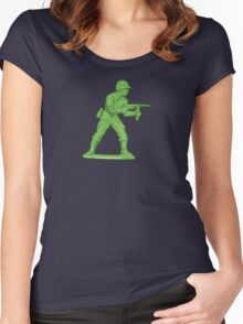 Toy Soldier Women's Fitted Scoop T-Shirt