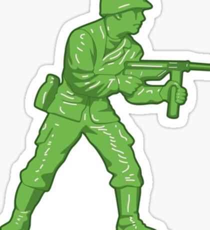 Toy Soldier Sticker