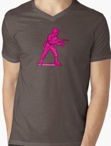 Toy Soldier [pink] Mens V-Neck T-Shirt