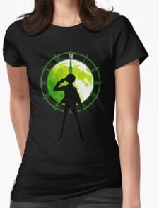 Dark Hour Womens Fitted T-Shirt