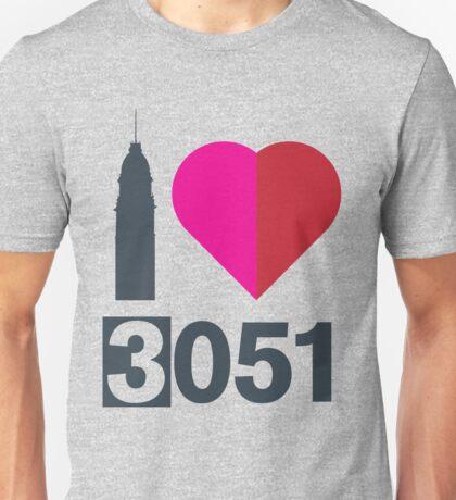 I heart 3051 - North Melbourne Unisex T-Shirt