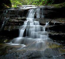 Leura cascades by Martin  Hoffmann