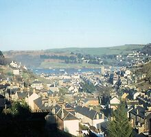 Long Ago 11 - Dartmouth & Trains at Kingswear by Francis Drake
