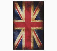 British grunge flag Kids Clothes