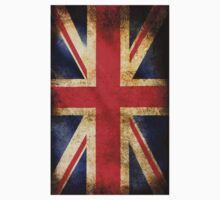 British grunge flag Kids Clothes