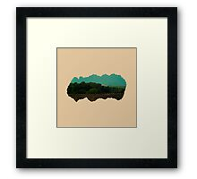 Eroded Composition | Three Framed Print