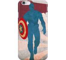 capitan america1 iPhone Case/Skin