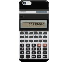 Vintage calc iPhone Case/Skin