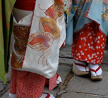 Geisha toes by turningjapanese
