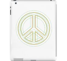 Peace Sign Symbol Abstract 2 iPad Case/Skin