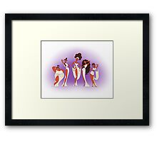 The Singing Muses Framed Print