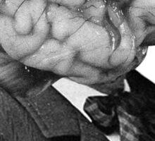 mr brain Sticker