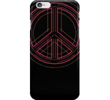 Peace Sign Symbol Abstract 3 iPhone Case/Skin