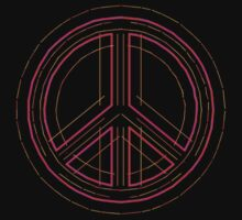 Peace Sign Symbol Abstract 3 T-Shirt