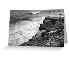 Waves at Portland Bill, Dorset, UK Greeting Card