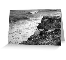 Waves at Portland Bill, Dorset, UK Greeting Card