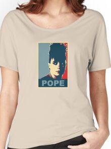 Pope  Women's Relaxed Fit T-Shirt