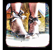 ~ the girl and the shoe fairy ~ Photographic Print