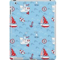 Nautical Sea Background iPad Case/Skin