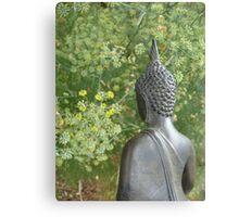Budda in Nature Canvas Print