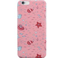 Nautical Sea Pattern iPhone Case/Skin