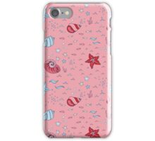 Nautical Sea Pattern iPhone Case/Skin