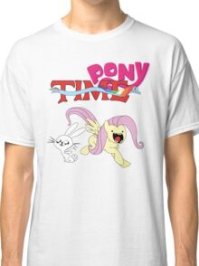 My Little Pony Adventure Time - Angel Bunny & Fluttershy Classic T-Shirt