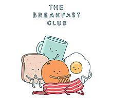 Breakfast Club Photographic Print