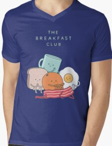 Breakfast Club Mens V-Neck T-Shirt