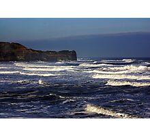 North Sea at Sandsend. Photographic Print