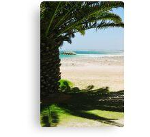 Gearldton Beach Canvas Print