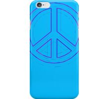 Peace Sign Symbol Abstract 4 iPhone Case/Skin