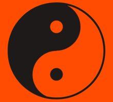 Asian Yin Yang Symbol Kids Clothes