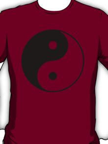 Asian Yin Yang Symbol T-Shirt