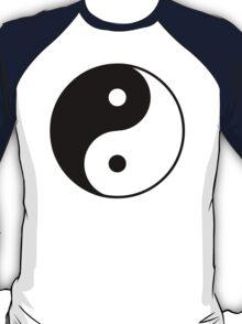 Asian Yin Yang Symbol T-Shirt