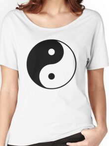 Asian Yin Yang Symbol Women's Relaxed Fit T-Shirt