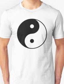 Asian Yin Yang Symbol Unisex T-Shirt