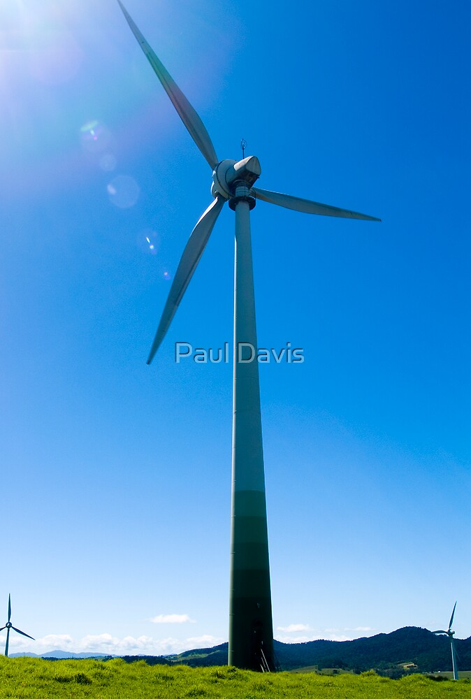 Wind - The Power to Change by Paul Davis