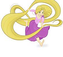 Tangled - Rapunzel by Eduardo Suñer