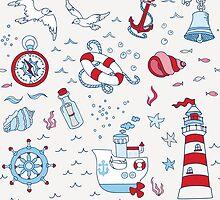 Nautical Sea Time by Anna Sivak