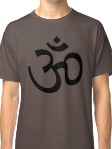 Indian Hindu Aum Om Symbol Classic T-Shirt