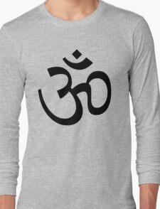 Indian Hindu Aum Om Symbol Long Sleeve T-Shirt