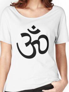 Indian Hindu Aum Om Symbol Women's Relaxed Fit T-Shirt
