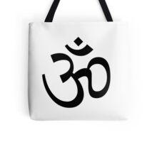 Indian Hindu Aum Om Symbol Tote Bag