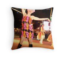 Queen of Oxford Street Throw Pillow
