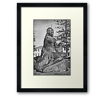 Pania of the Reef Framed Print