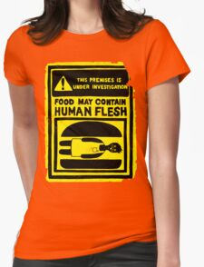 HUMAN FLESH Womens Fitted T-Shirt