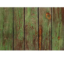 Old Wooden Texture Photographic Print