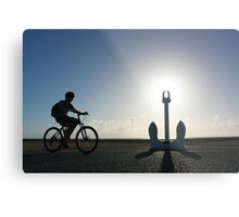 Early Morning Along Napier's Marine Promenade Metal Print